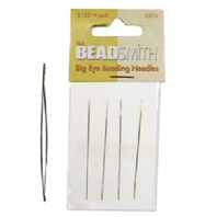 A Pack of 4 Beadsmith Big Eye Needles
